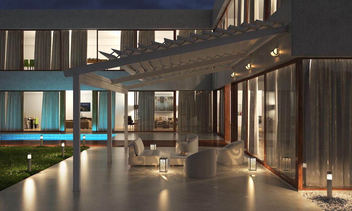High Quality Pergola zur Beschattung über MF Terrassenüberdachungen